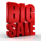 3D big sale — Stock Photo