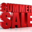 3D summer sale — Stock Photo #26297039