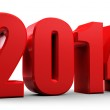 3D 2014 new year — Stock Photo