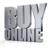 3D Buy Online word — Stok fotoğraf