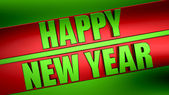 3d new year — Stock Photo