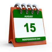 15 august  Indian Independence Day — Stock Photo