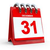 31 december calendar — Stock Photo
