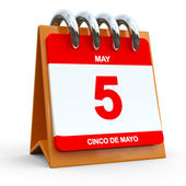 5th May Calendar — Stock Photo