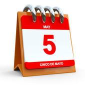 5th May Calendar — Stock Photo