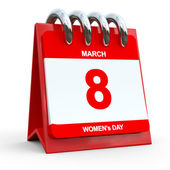 Women's Day Calendar. — Stock fotografie