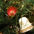 Stock Photo: Ornaments in Christmas Tree