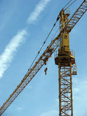 Crane On Background Blue Sky — Stock Photo