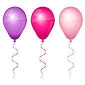 Renkli balonlar — Stok Vektör