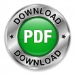 PDF download button — Imagen vectorial
