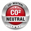 CO2 neutral — Stock Vector