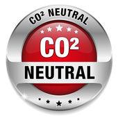 CO2 neutral — Stock Vector