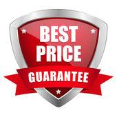 Best price shield — Stock Vector
