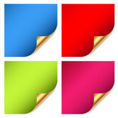 Colorful website sticker — Stock Vector
