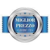 Blue Miglior Prezzo shield — Stock Vector