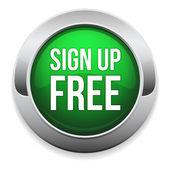 Zamów bezpłatny przycisk — Wektor stockowy