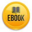 Yellow ebook button — Vektorgrafik