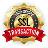 Distintivo de transação segura — Vetorial Stock
