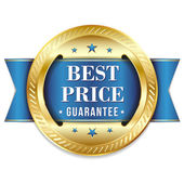 Best price badge — Stock Vector