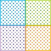 Vzor polka dot — Stock vektor
