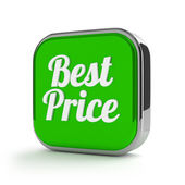 Best price button — Stock Photo