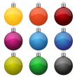 Christmas balls — Vector de stock #35963611