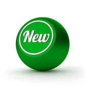 新しいボタン — ストック写真
