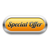 Special offer button — Stock Vector