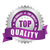 Top quality badge — Stock Vector