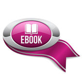 Ebook button — Stock Vector