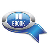 Ebook button — Wektor stockowy