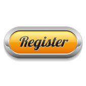 Registrar o botão — Vetor de Stock