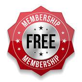Free membership badge — Stock Vector