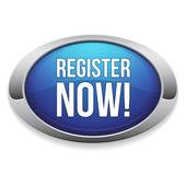 Register now button — Stock Vector