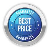 Best price button — Vector de stock