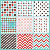 Colorful seamless pattern — Stock Vector