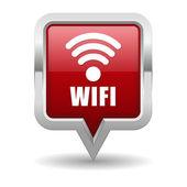 Wireless button — Stock Vector