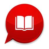 E-book-schaltfläche — Stockvektor