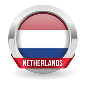 Netherlands button — Stock Vector