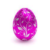 紫のイースターエッグ — ストック写真