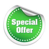 Special offer sticker — Stock Vector