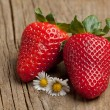 Tow strawberries — Stock Photo #19925547