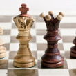 Chess figures - Foto Stock