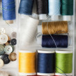 Spools of thread — Stock Photo #20002387