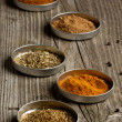 Set of the spices — Stock Photo