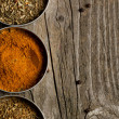 Mix of the spices - Foto Stock