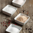 Salt and pepper - Stockfoto