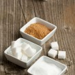 Stock Photo: Various of sugar