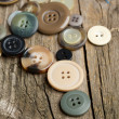 Collection of various buttons — Stock Photo