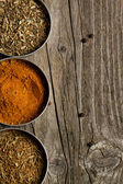 Mix of the spices — Stock Photo